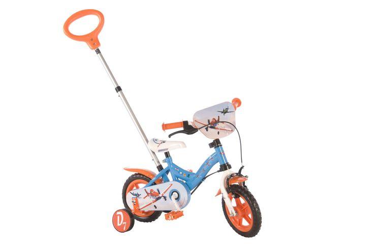 http://Gruttokinderfietsen.nl Disney Planes 10 inch jongensfiets - Grutto Kinderfietsen