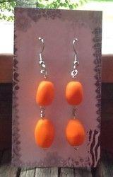 Tyrni korvakorut - Tyrni earrings