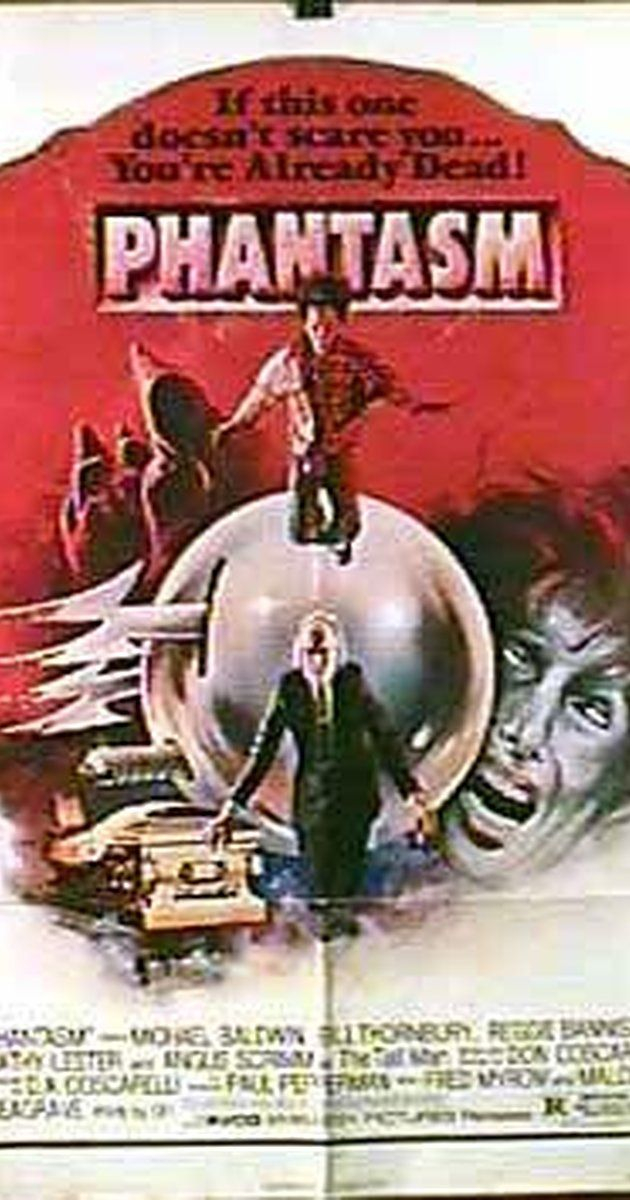 Directed by Don Coscarelli.  With A. Michael Baldwin, Bill Thornbury, Reggie Bannister, Kathy Lester. A young boy and his friends face off against a mysterious grave robber known only as the Tall Man, who keeps a mysterious arsenal of terrible weapons with him.