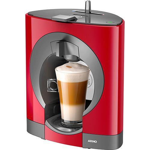 Cafeteira Expresso Nescafé Dolce Gusto Oblo Arno Vermelha