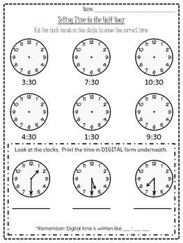 half hour time worksheet math games time worksheets grade 2 worksheets first grade math. Black Bedroom Furniture Sets. Home Design Ideas