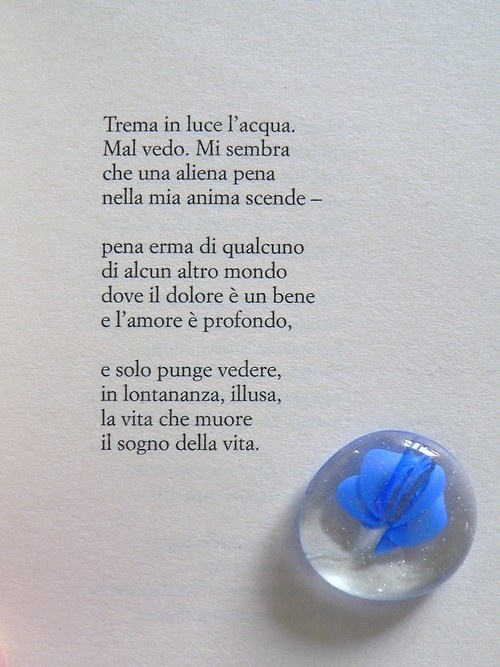 Fernando Pessoa, Trema in luce l'acqua