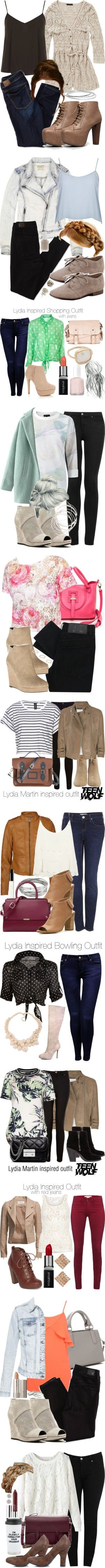 Lydia Martin ;; Outfits with Pants by marieh789 on Polyvore featuring Joe Browns, Dorothy Perkins, American Eagle Outfitters, Speed Limit 98, Argento Vivo, Topshop, Breckelle's, Nicola Crawford, Essie and Jane Norman