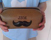 Personalized Wedding Gift for Groomsmen Gift Whiskey Leather HANDMADE Dopp Kit for Wedding Party