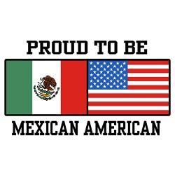 mexican american pride | proud_mexican_american_rectangle_decal.jpg?color=White&height=250 ...