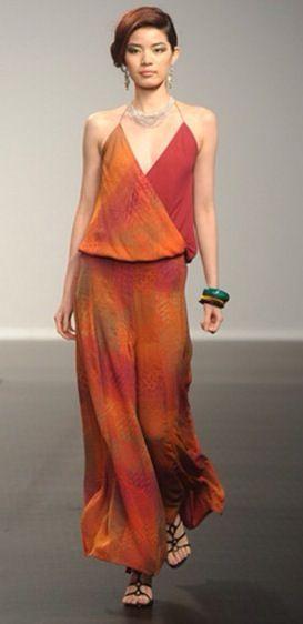 Alleira Batik for Hong Kong Fashion Week 2011