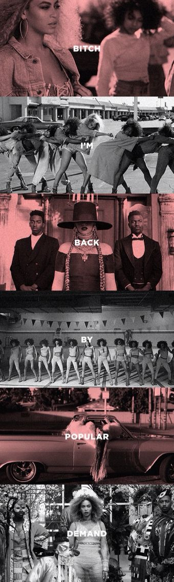 Beyoncè - Formation (song lyrics)
