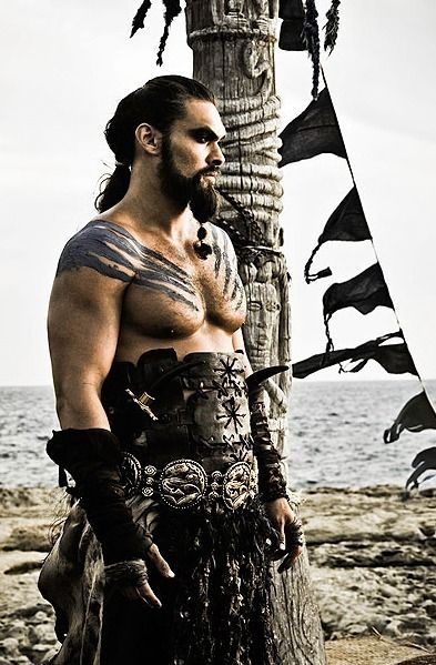 Khal Drogo. Too bad he died in season 1 #gameofthrones