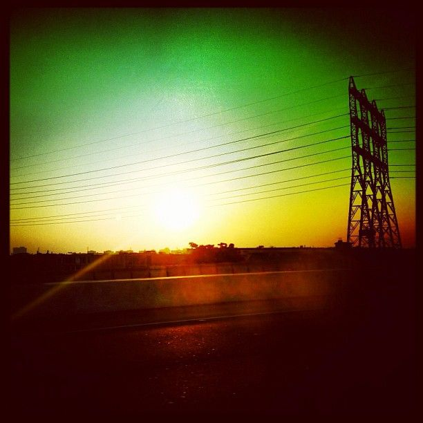 """""""Life is a highway, I wanna ride it all night long."""" Photo by Melissa Hetu"""