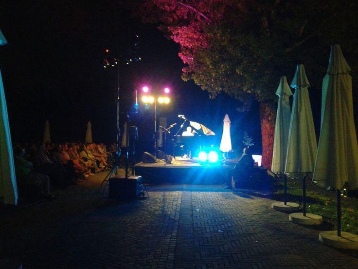 Ultima serata del Jazz & Wine...Danilo Rea ft Gerlando Gatto a Ca' la Ghironda. Luglio 2013 #Bologna #FraArteNatura