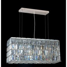 Elegant Lighting Maxim Collection Dining Room Hanging Fixture X X Chrome  Finish (Swarovski Strass/Elements Crystals)   Mega Supply Store