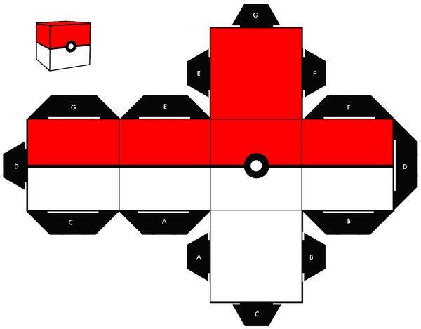 15 Best Photos of Pokeball Paper Crafts To Make - Pokemon ...