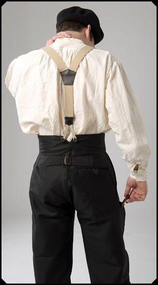 Den klassiska franska arbetarbyxan, ritad av Adolphe Lafont år 1896. Hög midja med justerspänne i ryggen. Benen är 1/2 ballong, dvs. ledigare kring låren och snävare vid foten, vilket ger rörelsefrihet utan att fladdra och dra in kalluft vid anklarna. Den tillverkas i svart för snickare och takläggare, i vit för stenhuggare.