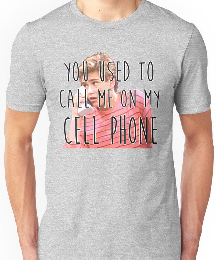Zack Morris Cell Phone Unisex T-Shirt