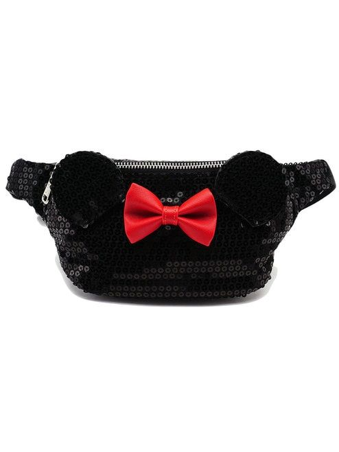 a156e20d288 Loungefly x Disney s Minnie Mouse Sequin Fanny Pack