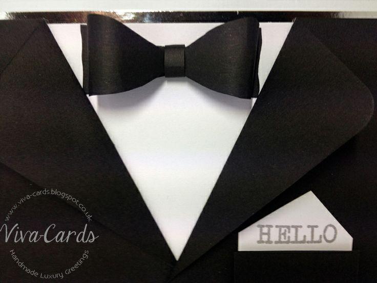 Handmade Man's Card - James Bond?