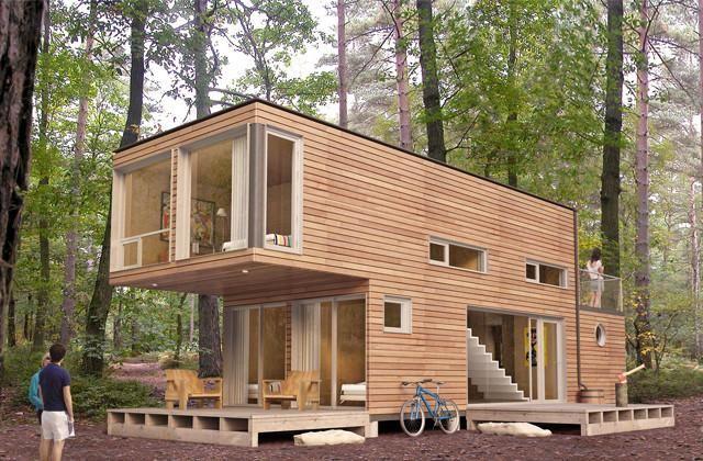 Wie verwandelt man Container im Wert von 2000 Euro in ein Haus