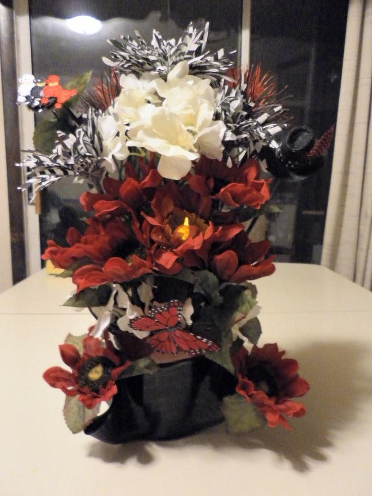 Rockabilly Wedding Flowers