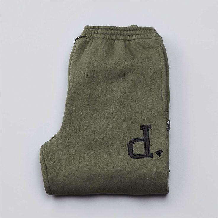 Flatspot - Diamond Un-Polo Sweatpants Olive / Black