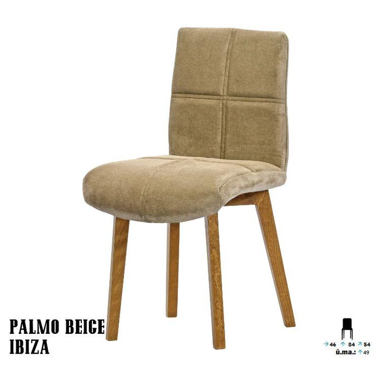 Palmo szék:      Egyszerű,mégis kárpitozása igazán elegánssá teszi megjelenését     Kellemes színeivel feldobja a szobát     Kényelmes ülés, lekerekített formákkal     Nappalija kiváló kiegészítője lehet!     Tökéletes vendéglátó helyiségekbe és akár egy váratlan vendég hellyel kínálásához is.
