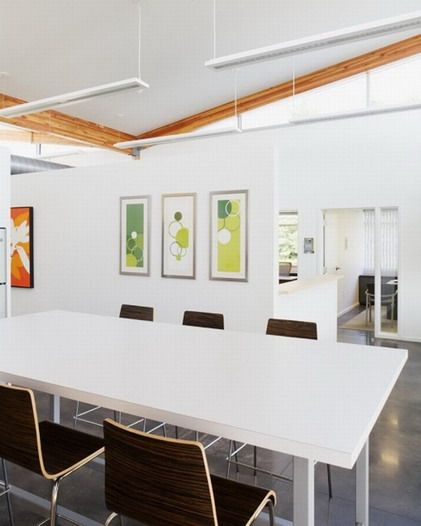 Office Interior Design Ideas: 17 Best Images About Modern Office On Pinterest