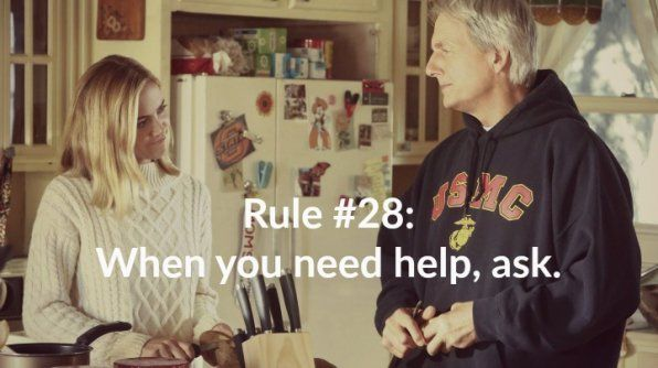Gibbs has added a rule to the list on tonight's #NCIS.
