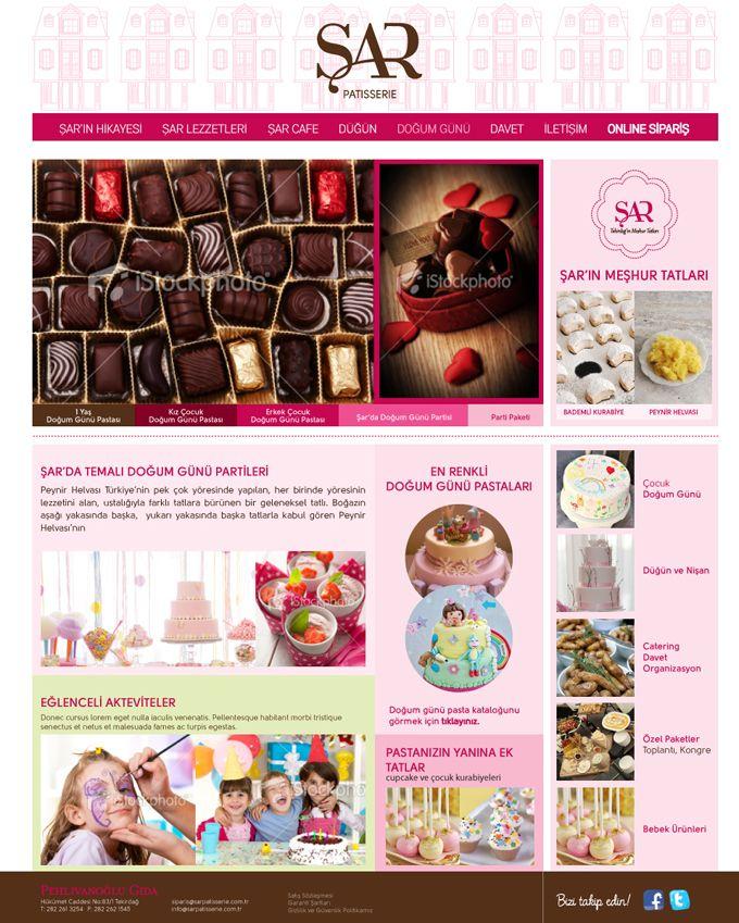 #interactive #design #website #webdesign #sarpatisserie #karbonltd