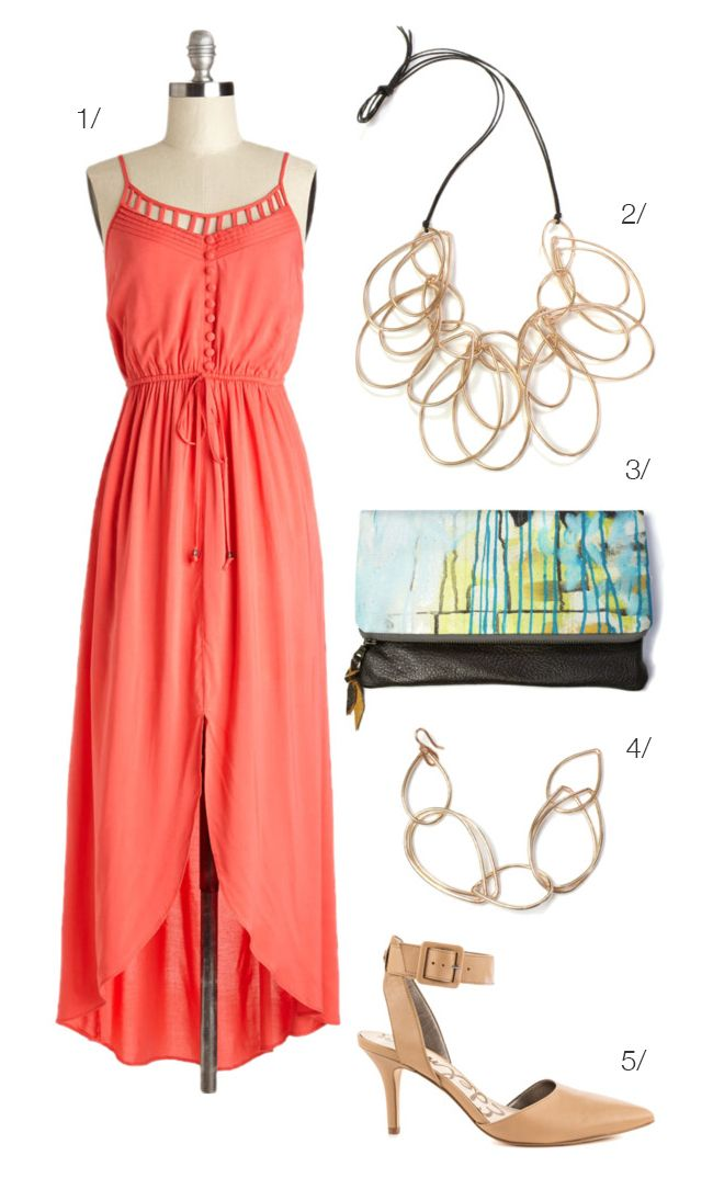 What To Wear A Summer Country Club Wedding