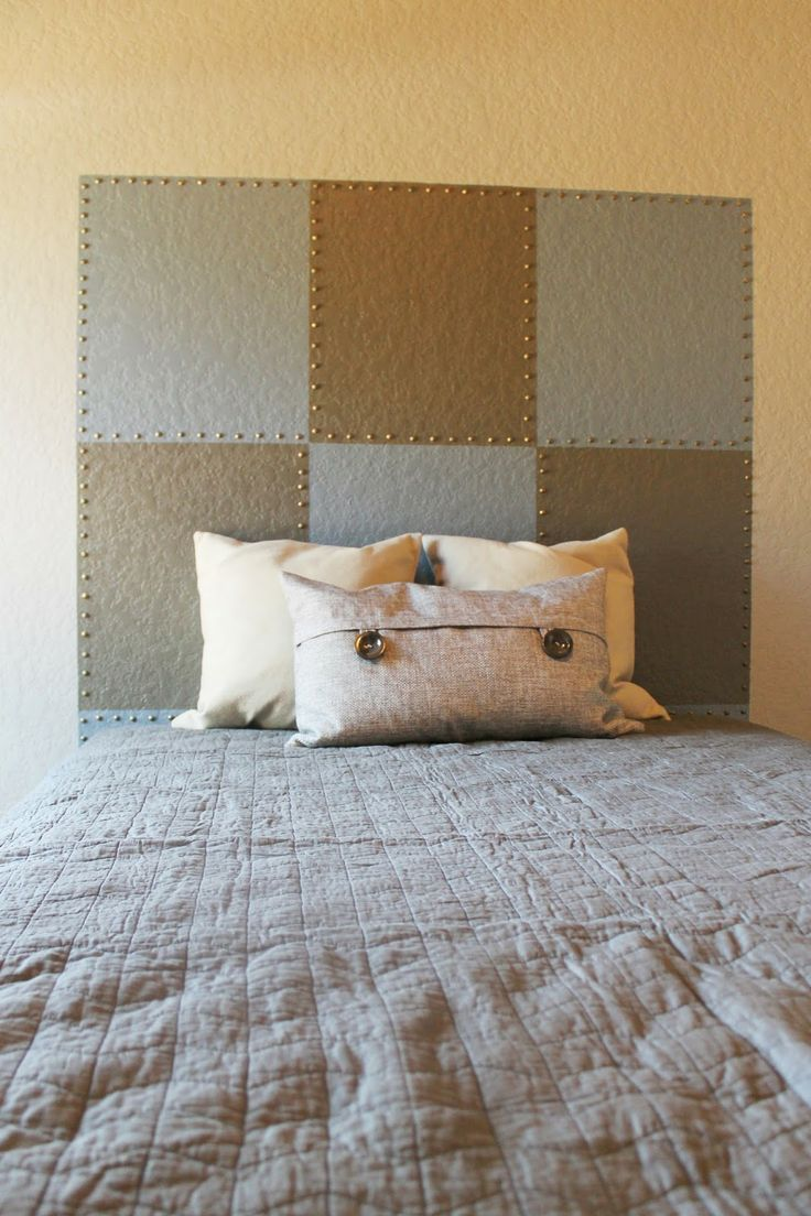 120 best images about boys rooms on pinterest boy rooms for Painted headboard on wall