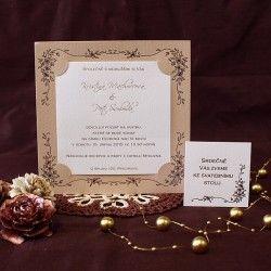 Svatební oznámení W596
