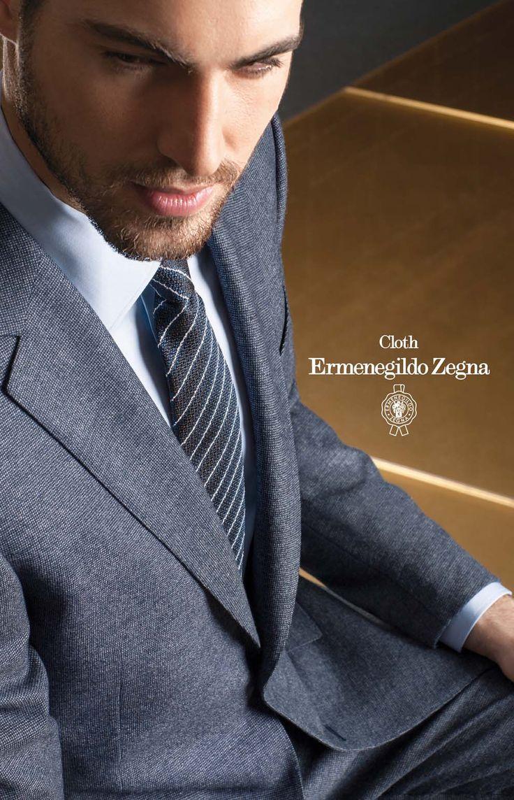 Costum business made to measure, tesatura Zegna, colectia Heritage - compozitie 100% Superfine Australian Wool, 280/290 Gr.