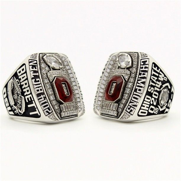 Custom 2014 OSU Ohio State Buckeyes Big Ten Championship Ring Click Link in My Profile to Order #gobucks #ohiostate #ohiostatebuckeyes #buckeyes #collegefootball #cfb #sooners #oklahoma