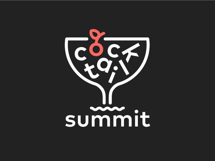 Cocktail Summit Logo by Meg Lewis #Design Popular #Dribbble #shots