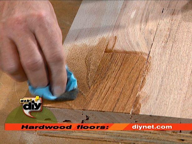 pisos de madera de renovación del acabado - sin lijado