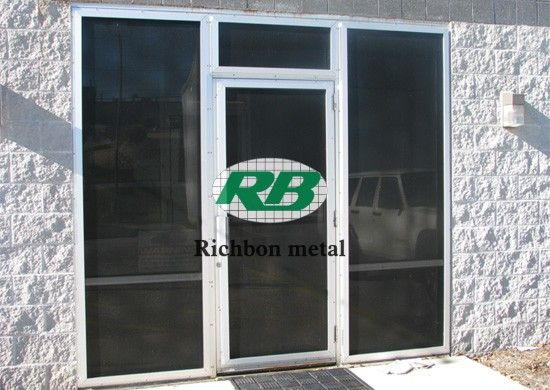 stainless steel security screen door