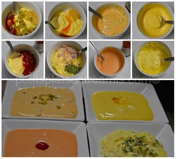 sauces pour fondue bourguignonne