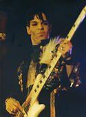FILE PIC: Glasgow, UK. 6th October 2016. Prince live in SECC , Glasgow , March 1995 © David Rankin/Alamy Live News - Stock Photo