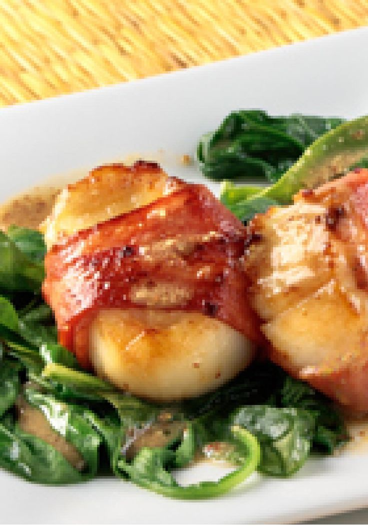 about Bacon Wrapped Scallops on Pinterest | Scallops wrapped in bacon ...