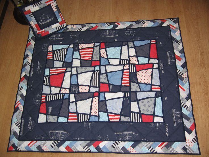 Magické čtverce, námořnická deka s polštářkem