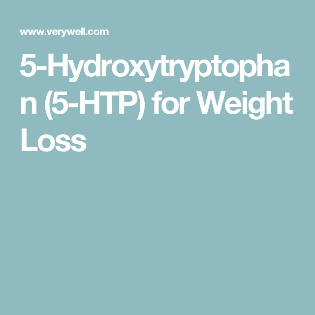 5-Hydroxytryptophan (5-HTP) for Weight Loss