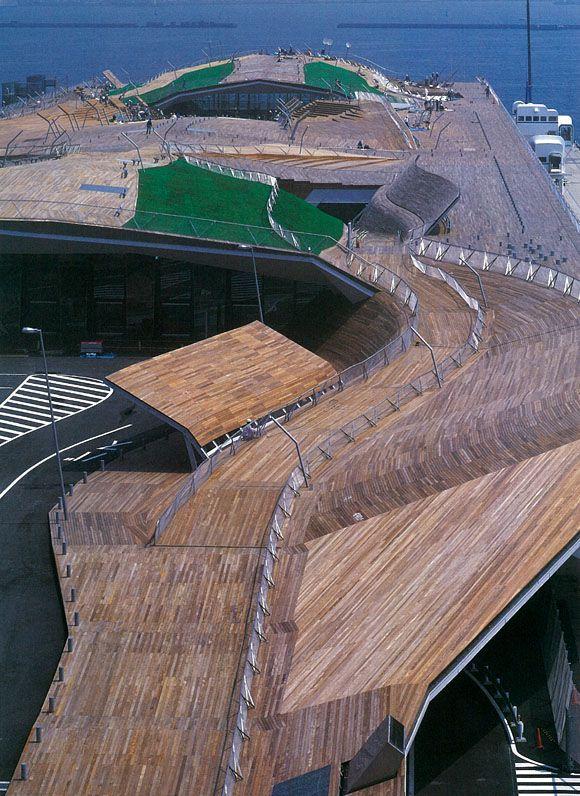 Osanbashi Yokohama International Passenger Terminal by Farshid Moussavi + Alejandro Zaera Polo / FOA