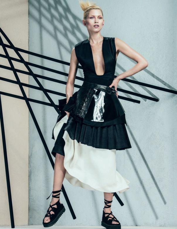 Hana Jirickova by Sebastian Kim for Vogue Russia April 2014 8