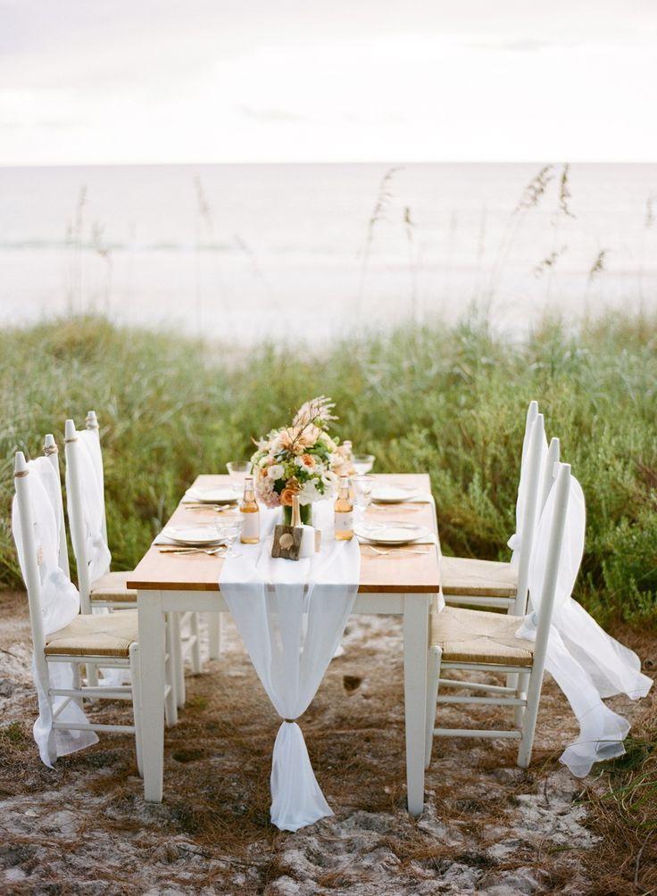 25 Stunning Wedding Reception On The Beach