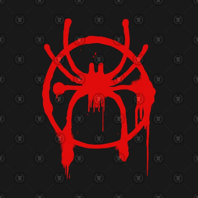 Spider Man Into The Spider Verse Spray Paint Logo Spiderman Drawing Spider Verse Spiderman Art