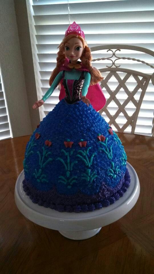 Frozen Anna Cake Frozen Party Pinterest Anna Cake