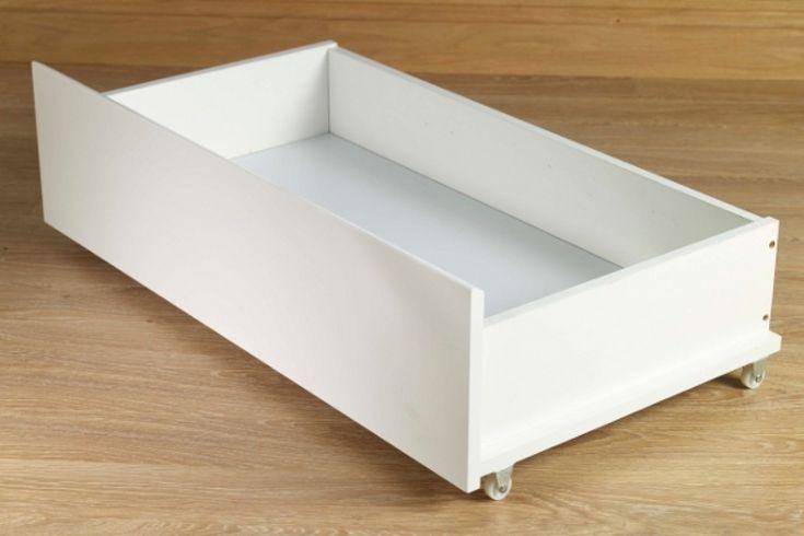 Underbed Storage Drawers On Castors