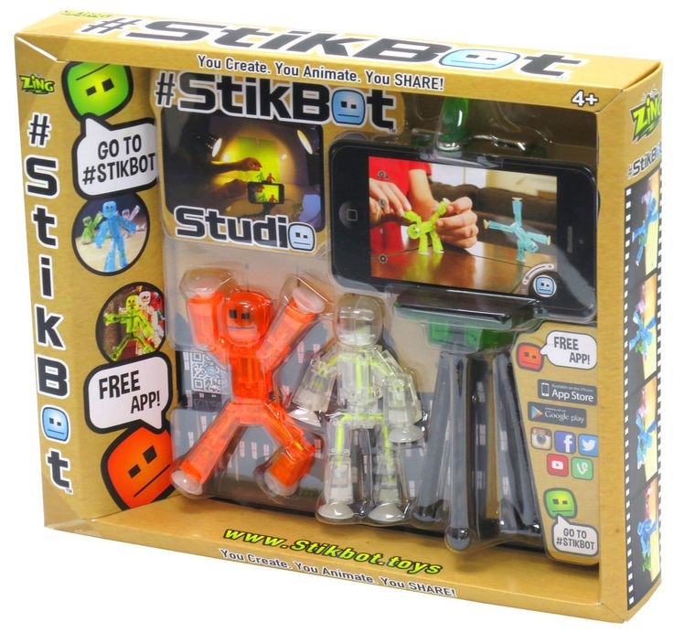 StikBot Studio | Kids Gadgets | StikBot Studio from BrightMinds UK