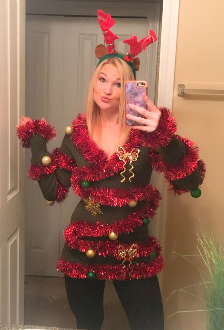 43 best Ugly Christmas Sweater Party Sweaters images on Pinterest ...