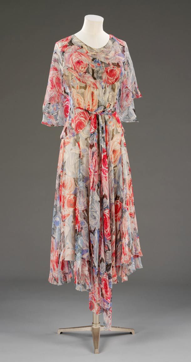 "Afternoon Tea Dress c. 1930 by Madeleine Vionnet ""The Queen of the Bias Cut"" 1876-1975"""
