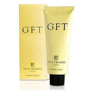 a geo f trumper gft soft shaving cream travel tube 75g